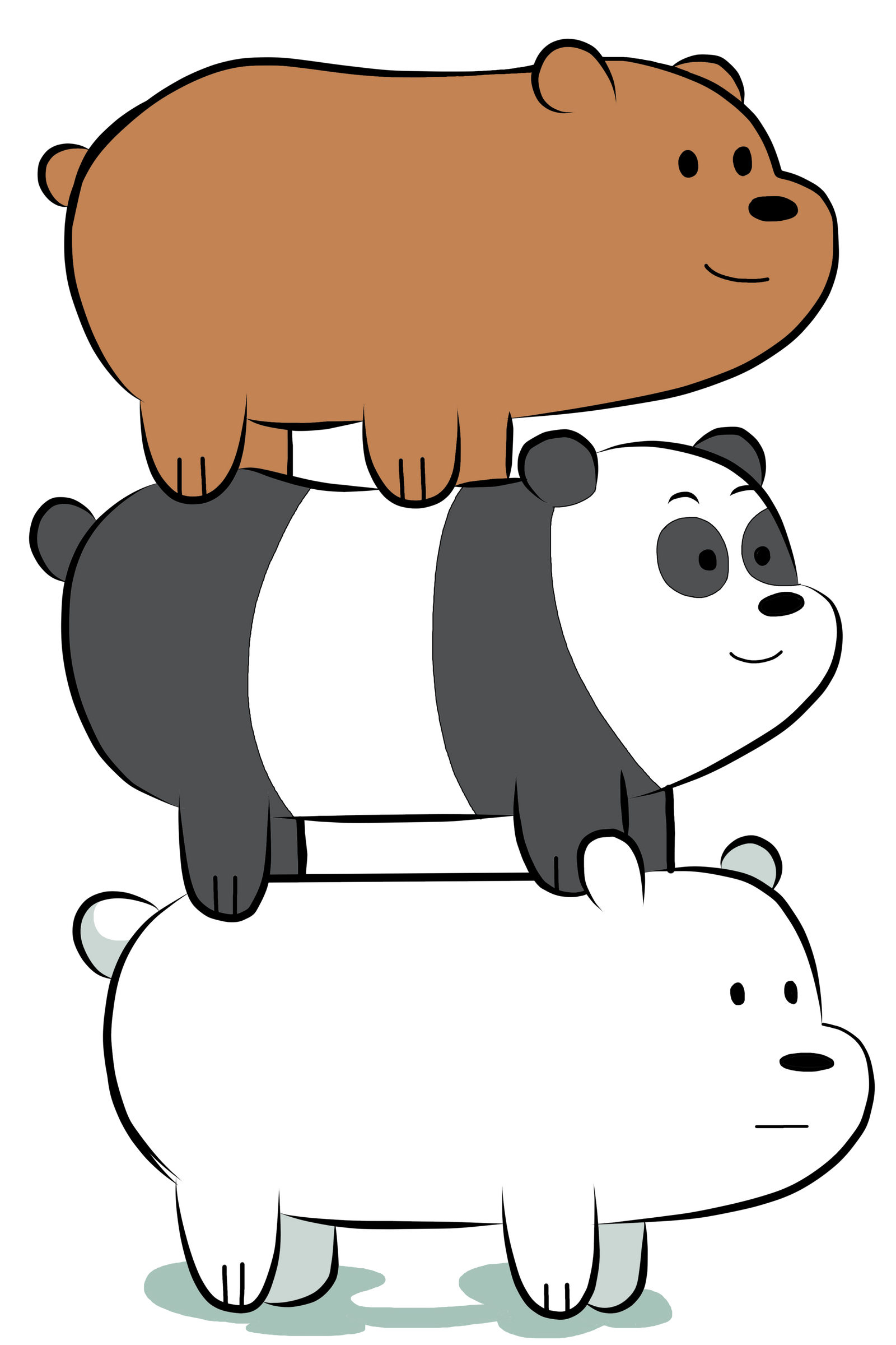 images of we bare bears2 grizzly calto
