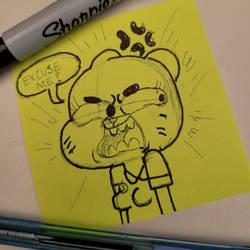 Angry Nicole (Doodle)