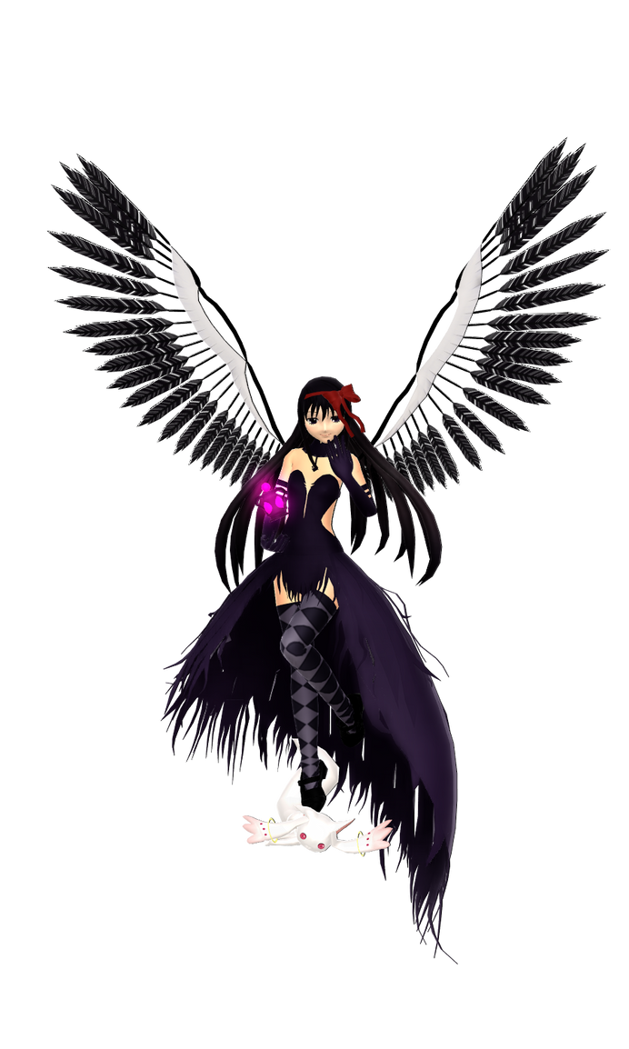 Akuma Homura by sincerus113