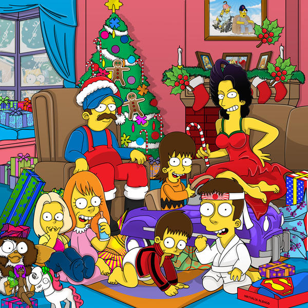 Merry Christmas, Joleen by SimpsonsCameos on DeviantArt