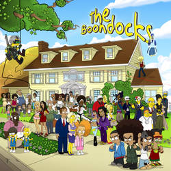 The Boondocks by SimpsonsCameos