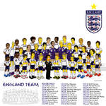 England Team - No Background