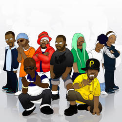Wu-Tang Clan by SimpsonsCameos