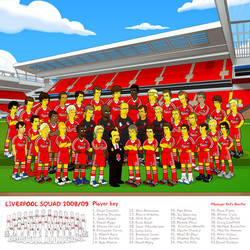 Liverpool FC 08-09