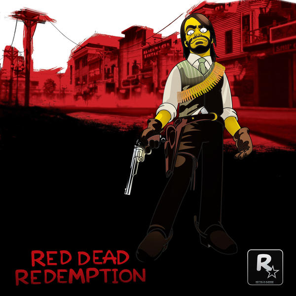 Red Dead Redemption by SimpsonsCameos