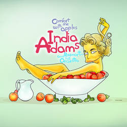 India Adams Comfort Me With Apples