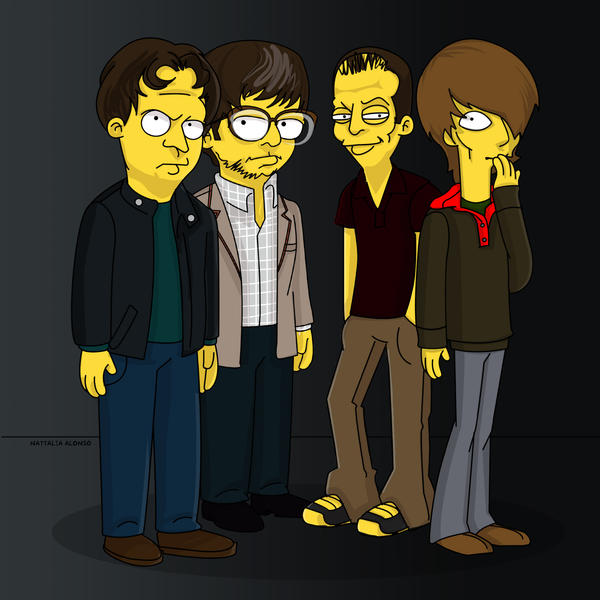 death cab for cutie by simpsonscameos on deviantart