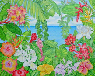 Sea through the Jungle by joeyartist
