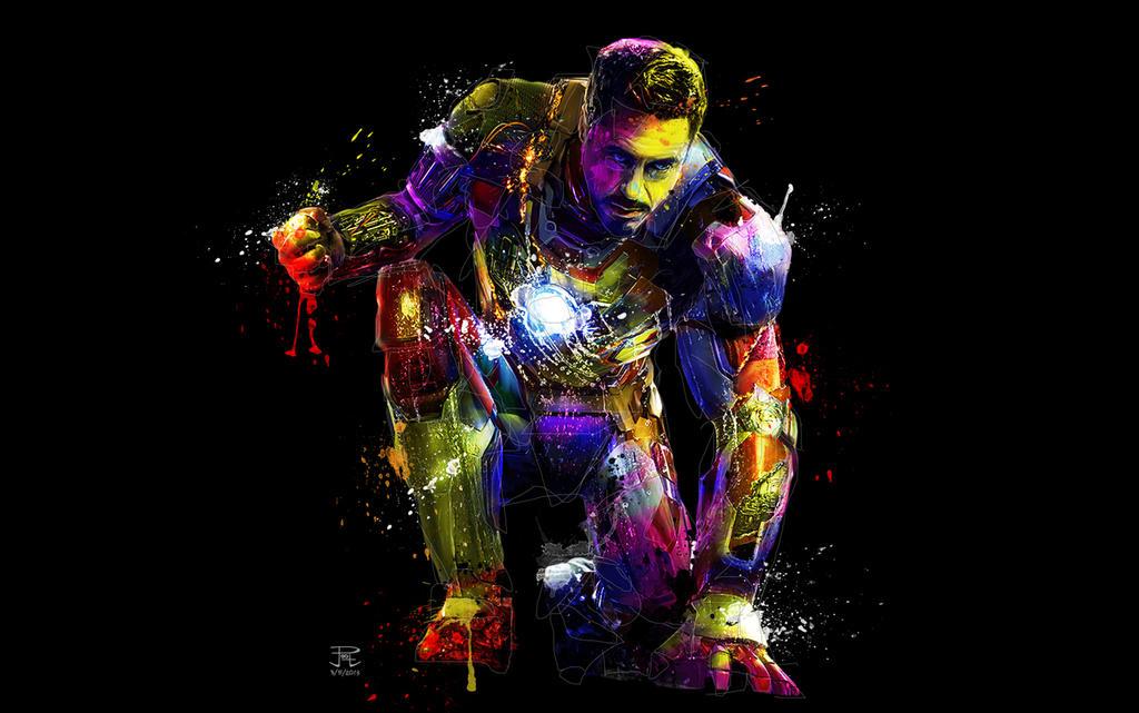 Iron Man Pop by PootPoster