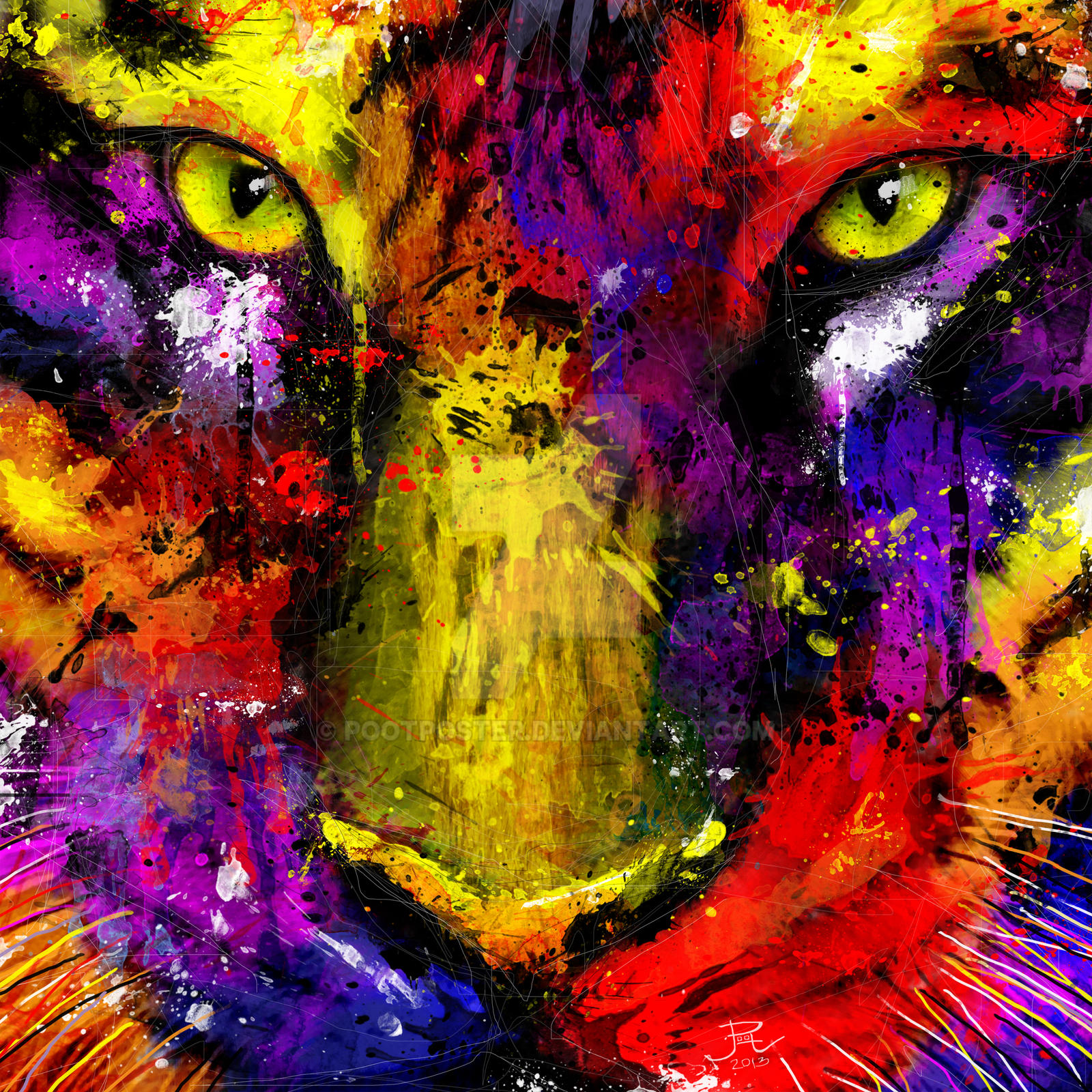 tiger pop by pootposter on deviantart
