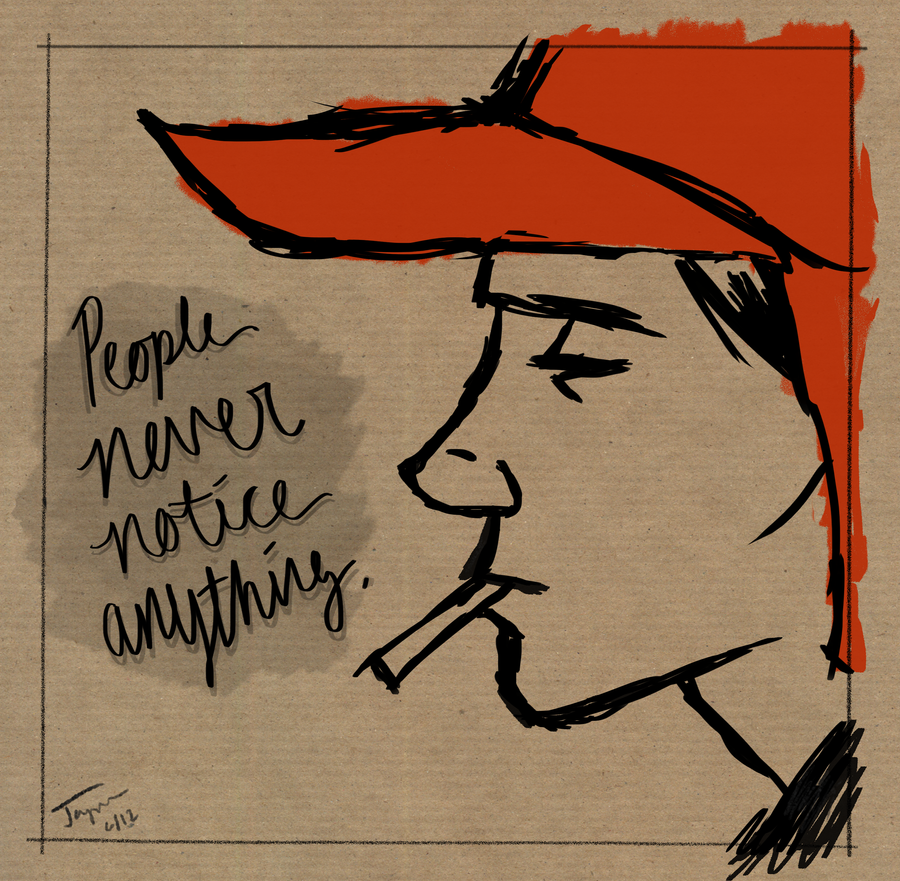 holden caulfield Clinical diagnosis of holden caulfield signs and symptoms of depressive episodes sad mood fatigue and loss of energy sleep problems appetite changes poor concentration agitation guilt, pessimism, helplessness or low self esteem loss of interest / pleasure in life suicidal thoughts.