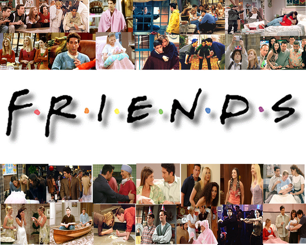 Friends Wallpaper By Jenn Collins