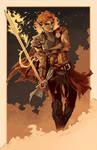 Fire Genasi Warrior