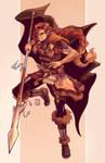 Lorracyn, the Half-Elf Ranger