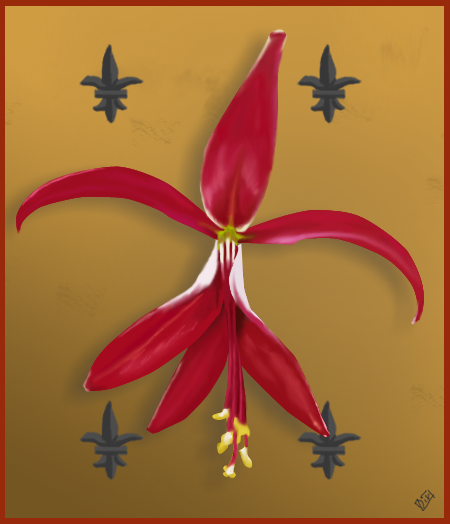 Flor De Lis By Pixeldisc On Deviantart