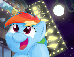 somepony loves the musicals by PixelDisc