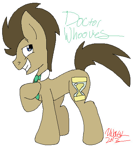 Doctor Whooves by WolfRusher
