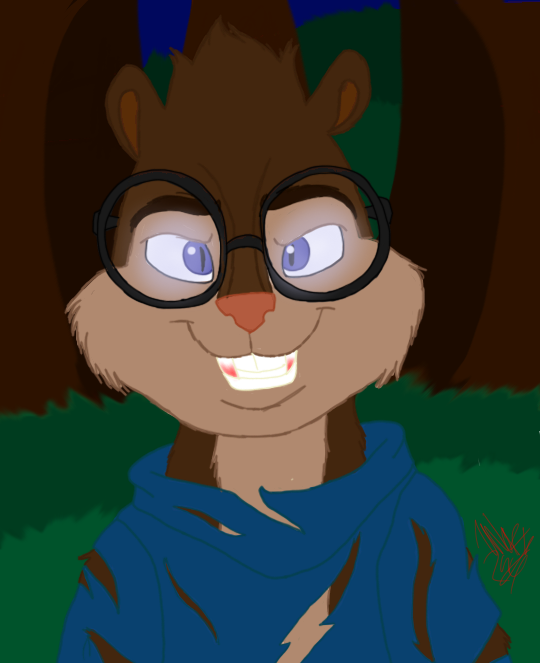 Werewolf Simon Version 2-Eyeglow by WolfRusher