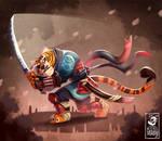 Batu, the ronin tiger