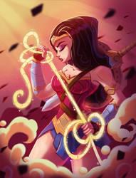 Wonder Woman by MichelVerdu