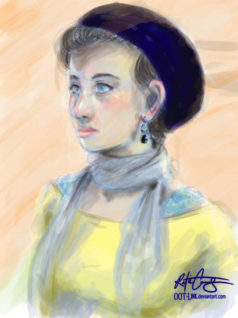 30 min portrait. Kris by OOT-Link