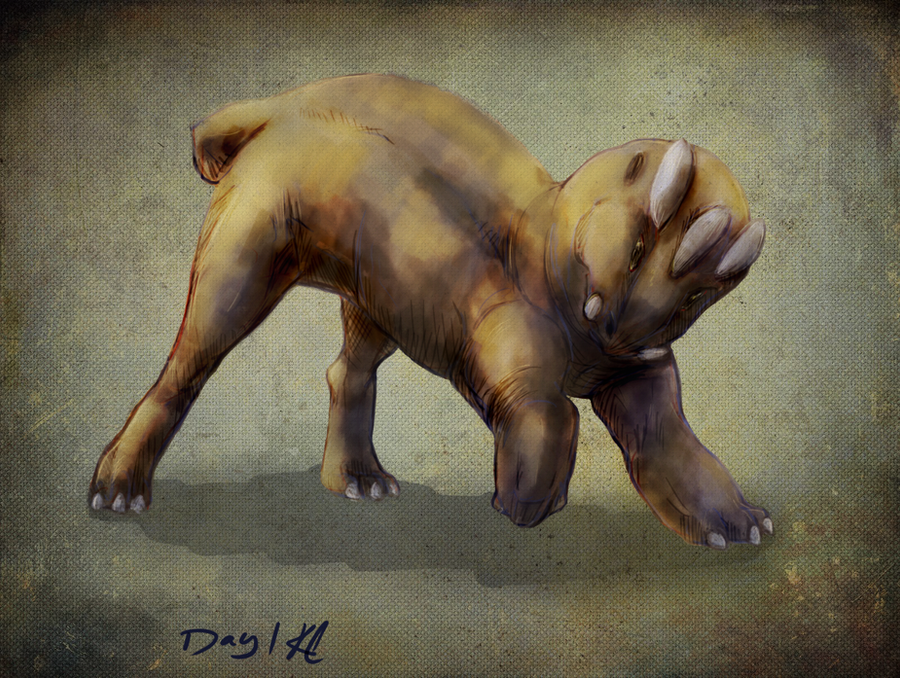 Creature Design Practice day1 by OOT-Link