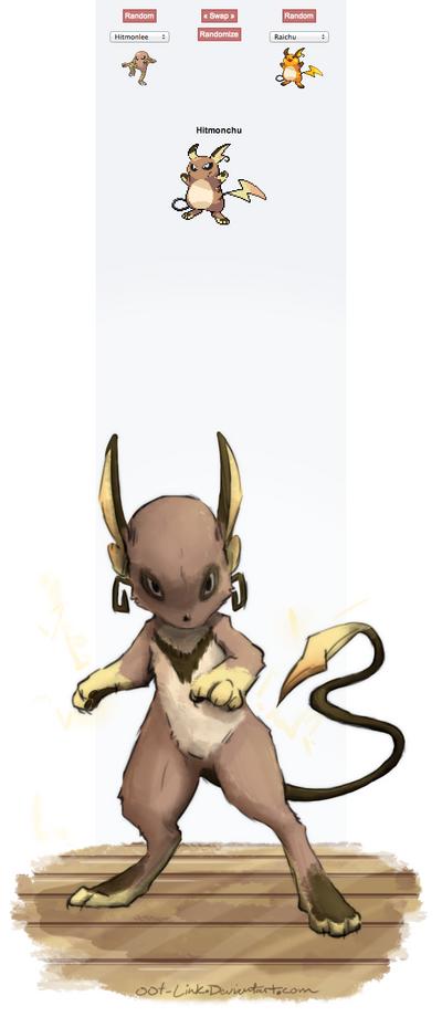 Pokemon Fusion - Hitmonchu by OOT-Link