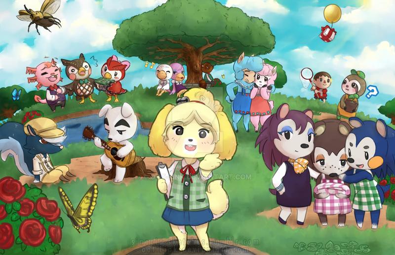 Animal Crossing New Leaf by OOT-Link