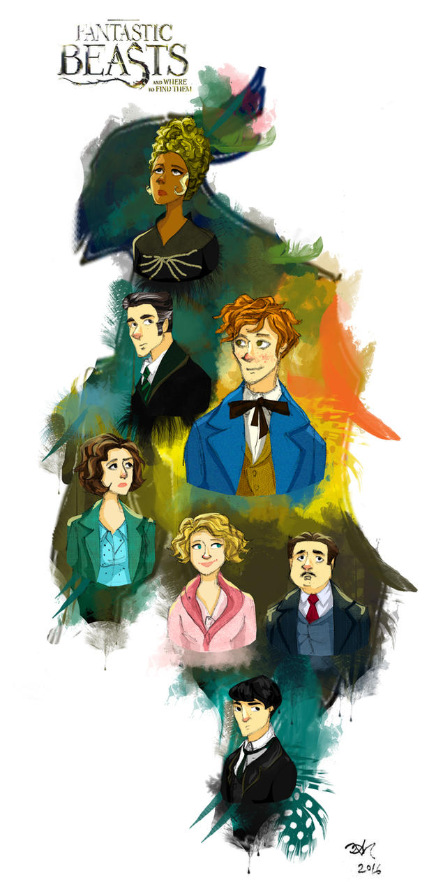 Fantastic Beasts And Where To Find Them By Orchideacae