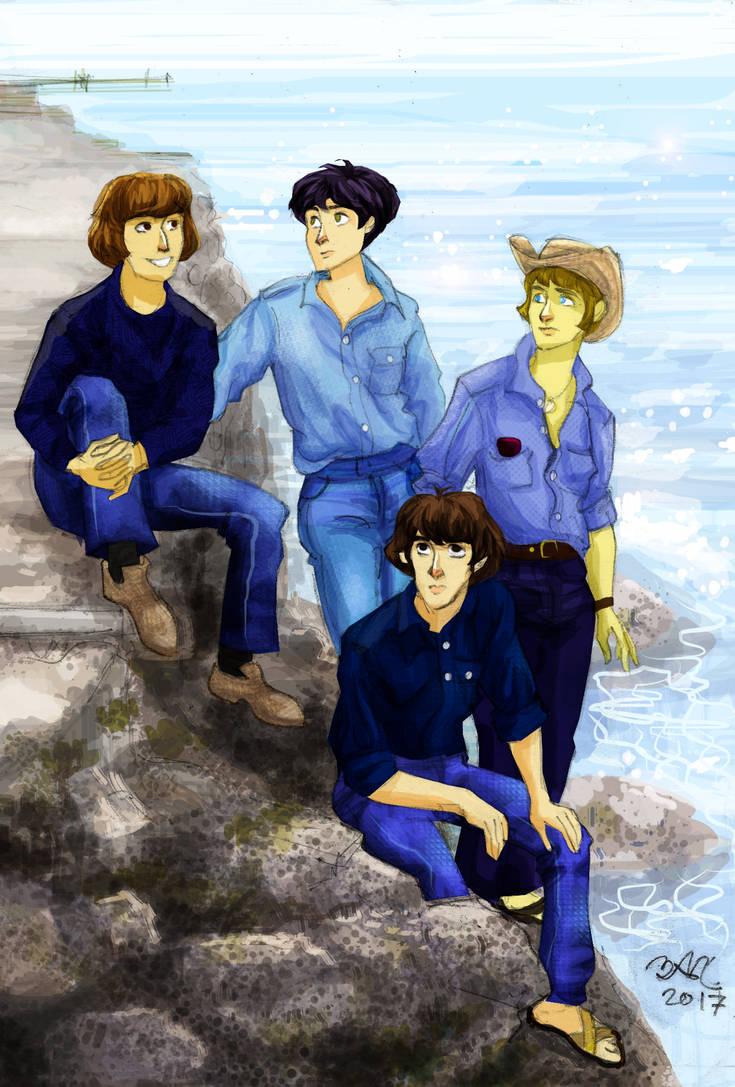 Jeans-y Beatles
