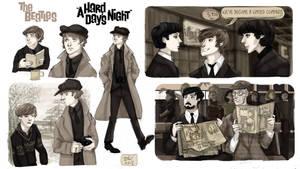 Screen-Cap Study: A Hard Day's Night