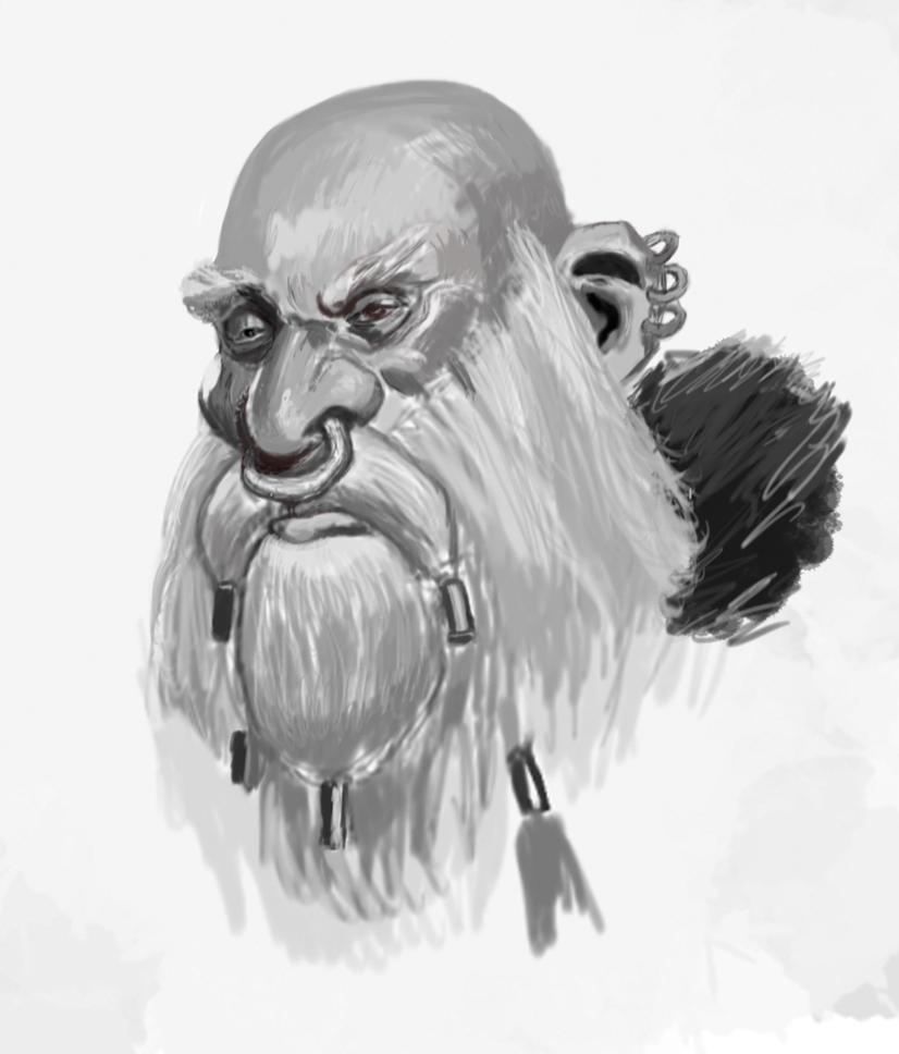 Digtial Sketch by Namrettek