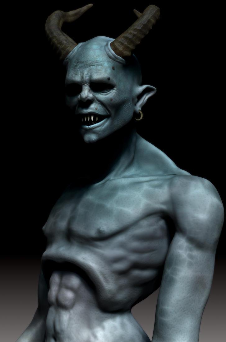 Demon WIP by Namrettek