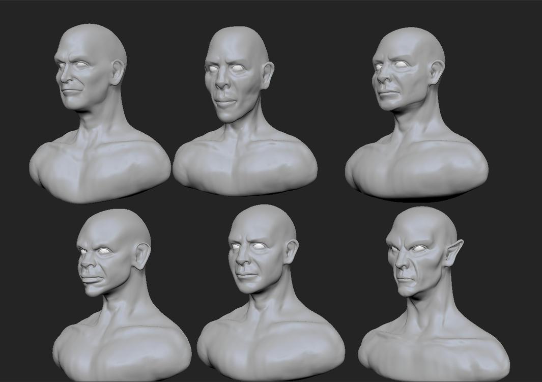 Face Variations by Namrettek