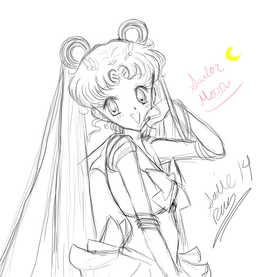 Sailor Moon by Snivy94
