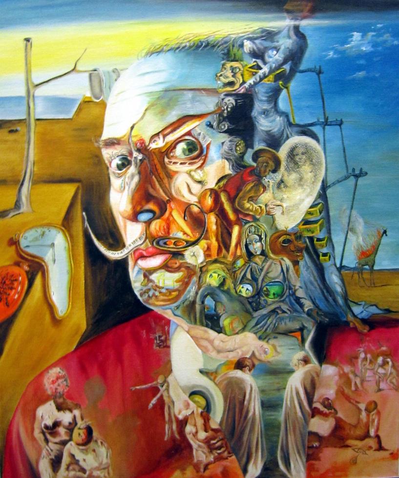 Salvador Dali by EugenArt