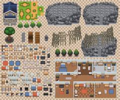 Public tileset compilation 2015 by PureAzuure