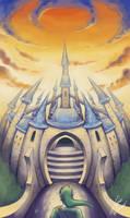 Hyrule's Castle. by PureAzuure