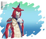 TLOZ BOTW Prince Sidon!