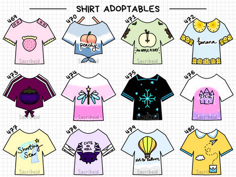 [OPEN] Outfit Adopts 469-480