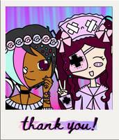 Thank You! by SacriHeid
