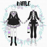 CLOSED | RAFFLE | Outfits 564-565 by SacriHeid