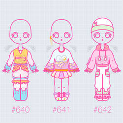 [OPEN] (200 Pts) Outfit Adopts 640 - 642