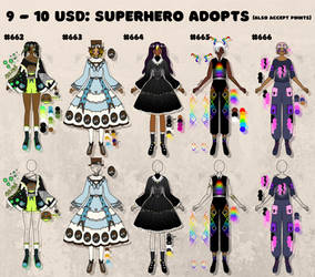 [OPEN] superpower outfits!