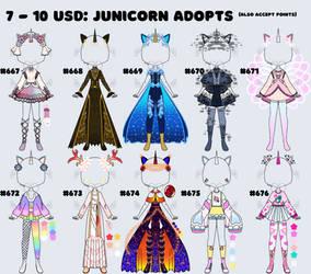 [OPEN] junicorn designs!