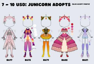 [OPEN] junicorn designs part 2!