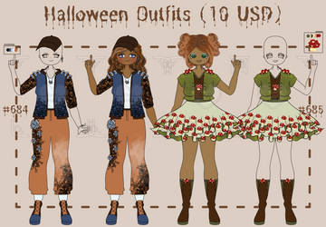 [OPEN] casual halloween outfits!
