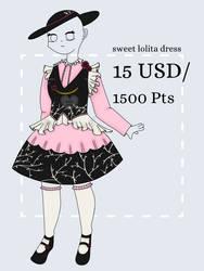 [OPEN] sweet dark forest lolita dress