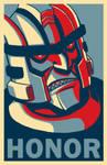 Dinobot 'HONOR' poster v2.0