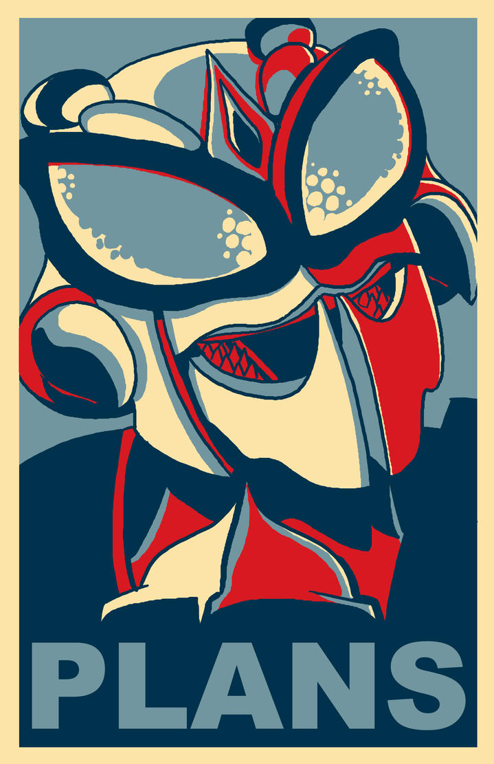 Temple de la Renommée Transformers: À vos votes! - Page 2 Waspinator___plans___poster_by_itswalky-d3dzwio
